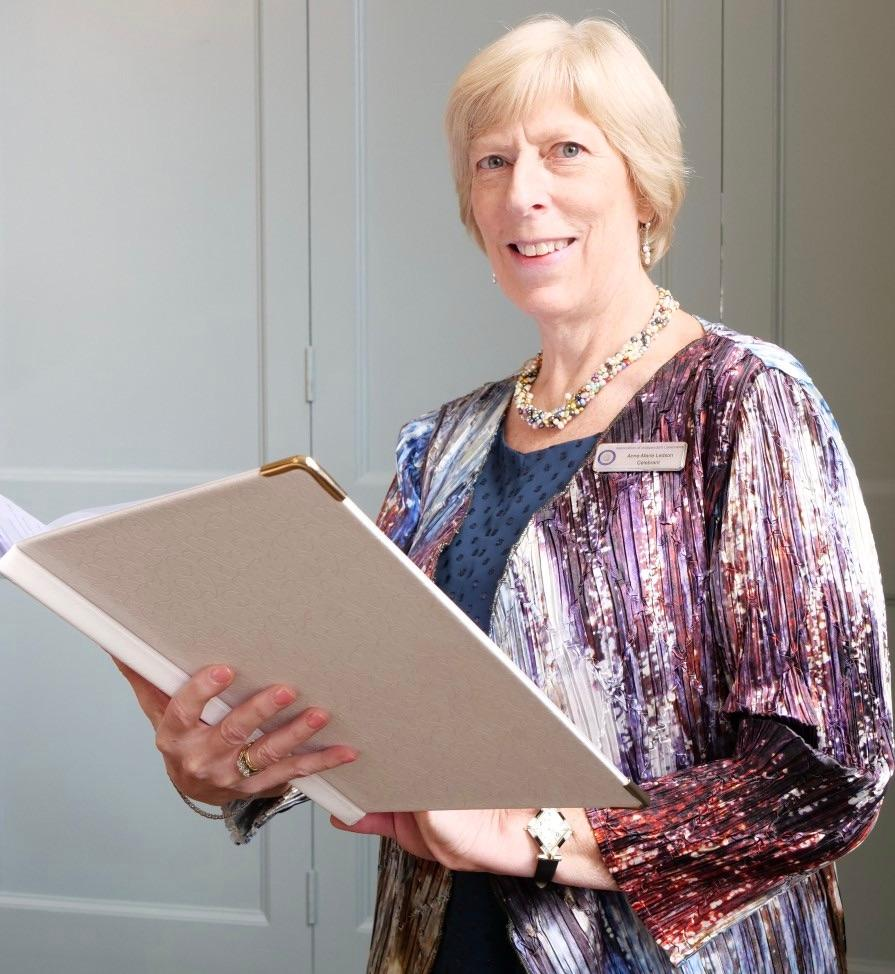 Anne-Marie Ledson, Independent Celebrant for a unique wedding ceremony