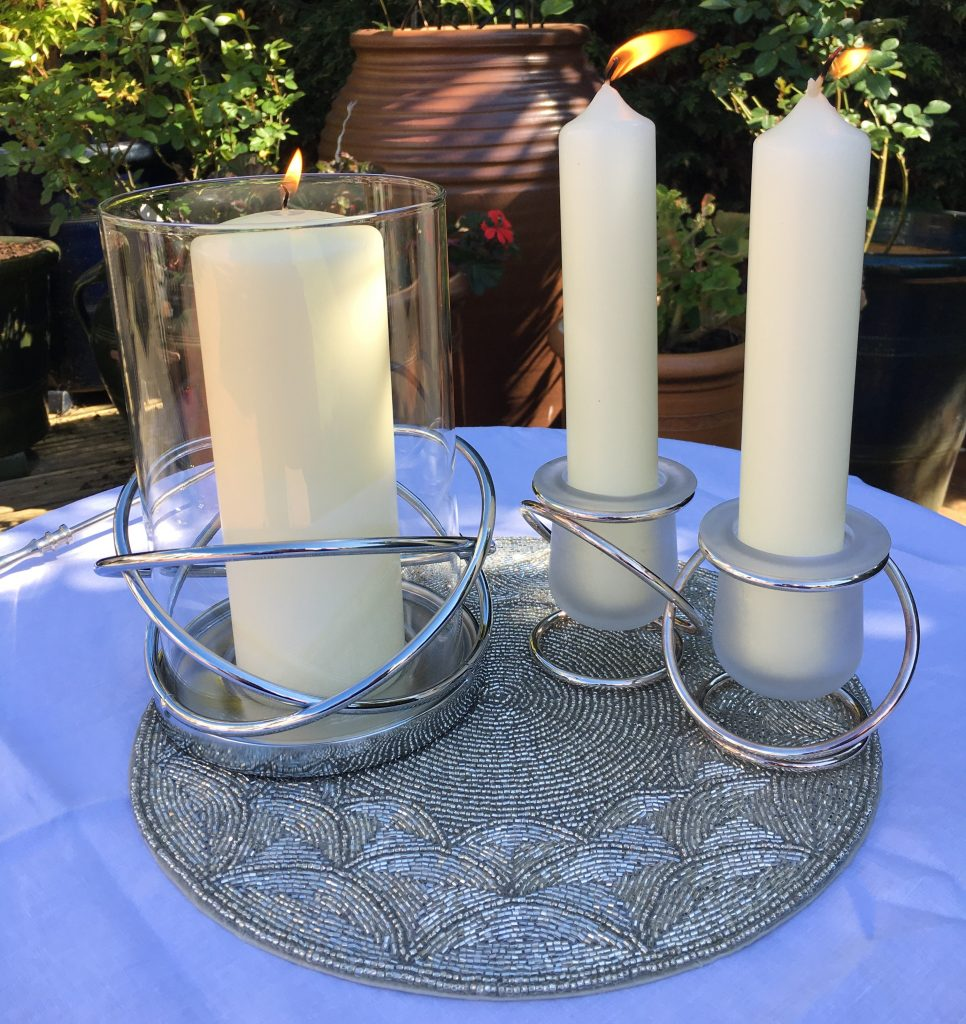 Unity Candle Ceremony for Weddings and Civil Partnerships