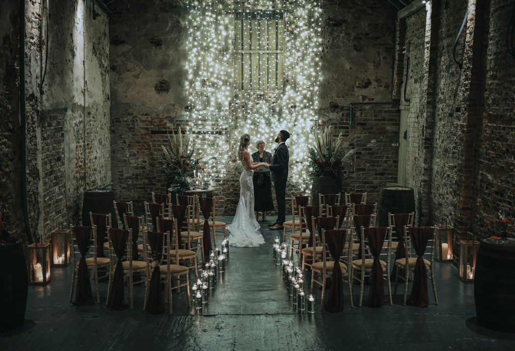 Beautiful Barn venue for an elegant Wedding Ceremony (The Normans)